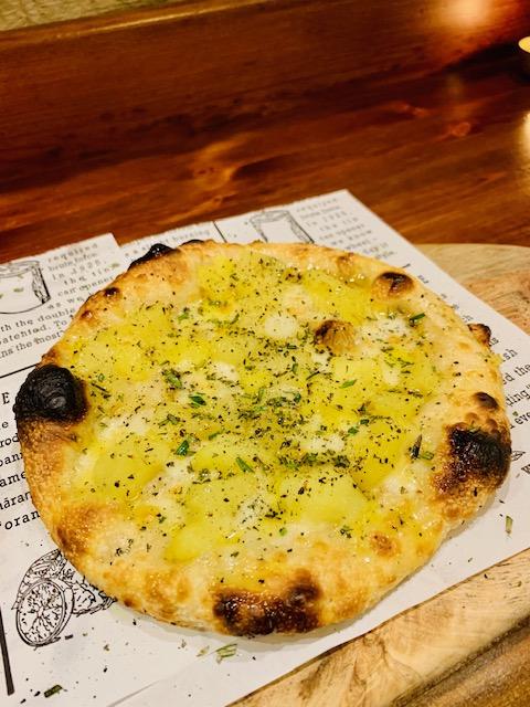 pizzetta e patate di Amerina la Pizzetta