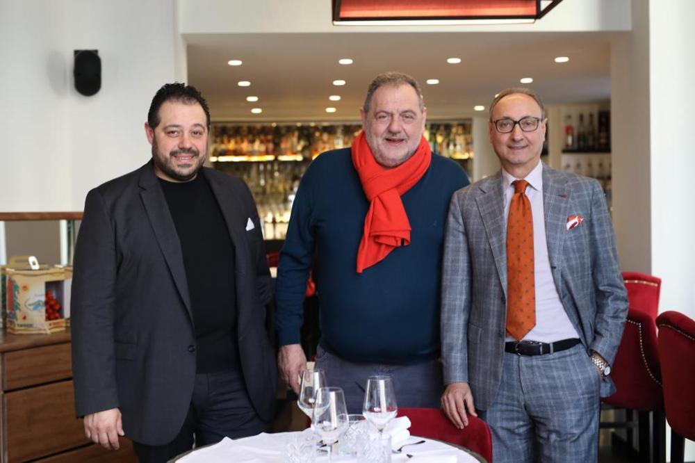 Luca Vissani Gianfranco Vissani Domenico Iozzi
