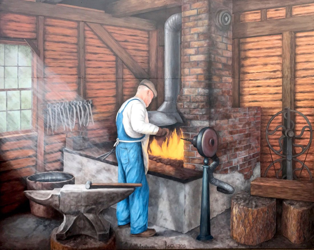 Bandy Blacksmith