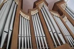 Über 1400 Orgelpfeifen hat die neue Karlskroner Orgel. Foto: Ramona Schittenhelm