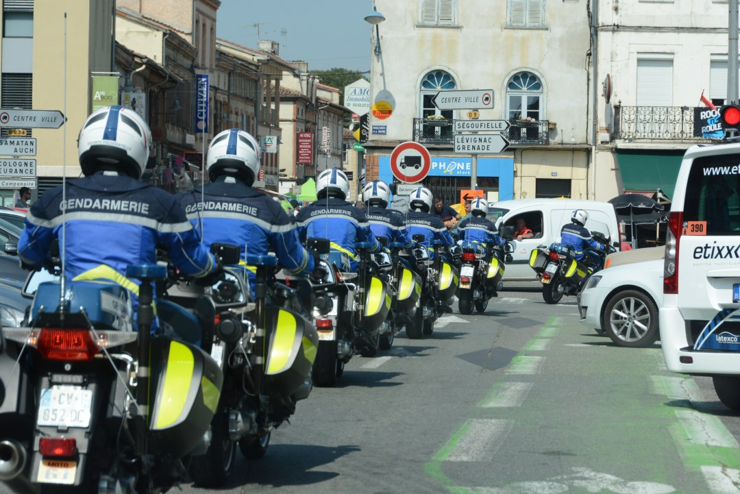 フランス国家憲兵隊トレイン