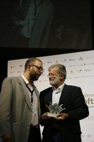 Con Juan Carlos Rodríguez Ibarra