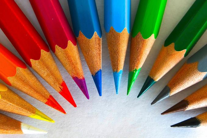 Colour Pencisl