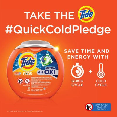 tide quick cold pledge campaign | sustainable brands 2018