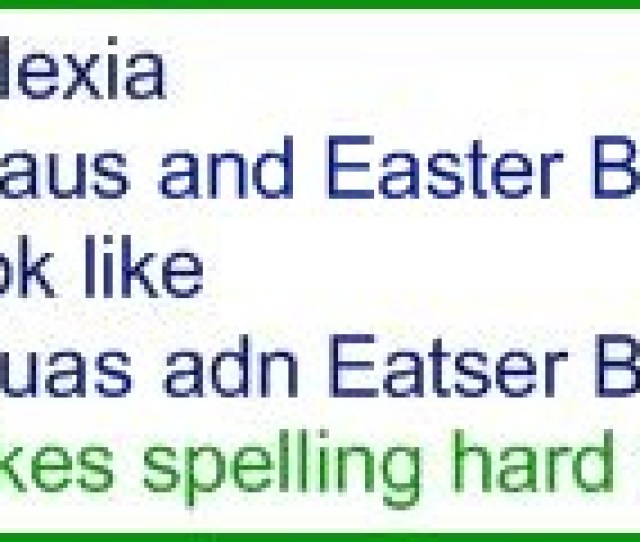Different Types Of Dyslexia_spelling