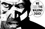 """""""We are the walking dead!"""" comic book panel"""