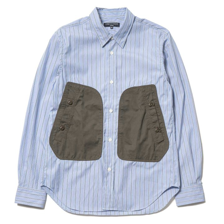 Comme-des-Garcons-HOMME-Cotton-Broad-Strip-Cotton-Polyester-Canvas-Shirt-Blue-White-Khaki-1_2048x2048