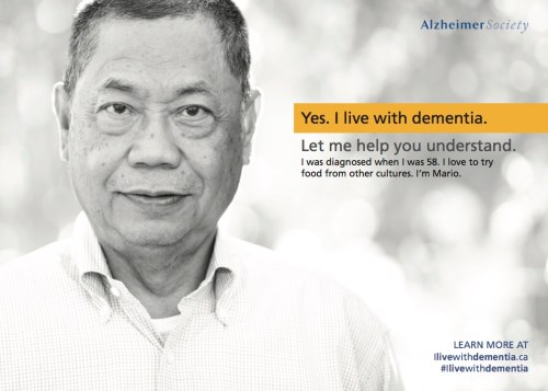 Mario - Yes. I live with dementia. Let me help you understand.