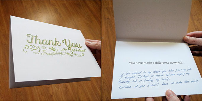 donor thank you letter