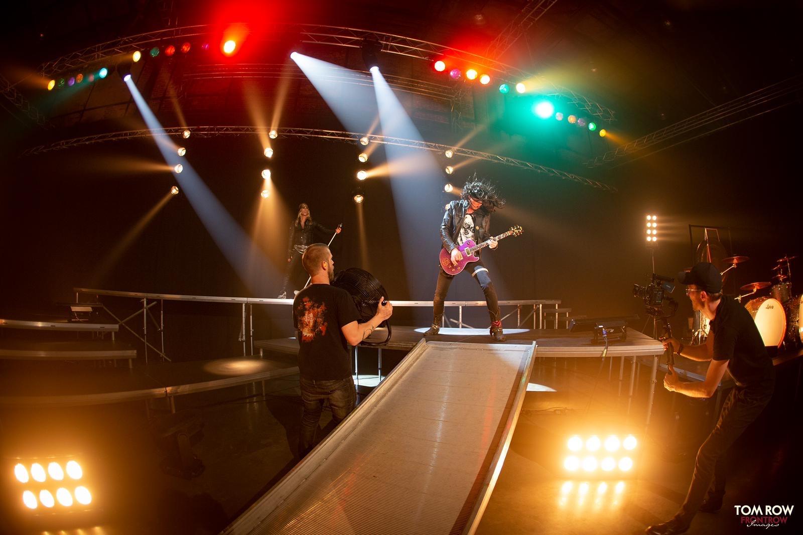 John Diva & the Rocket of Love Videodreh