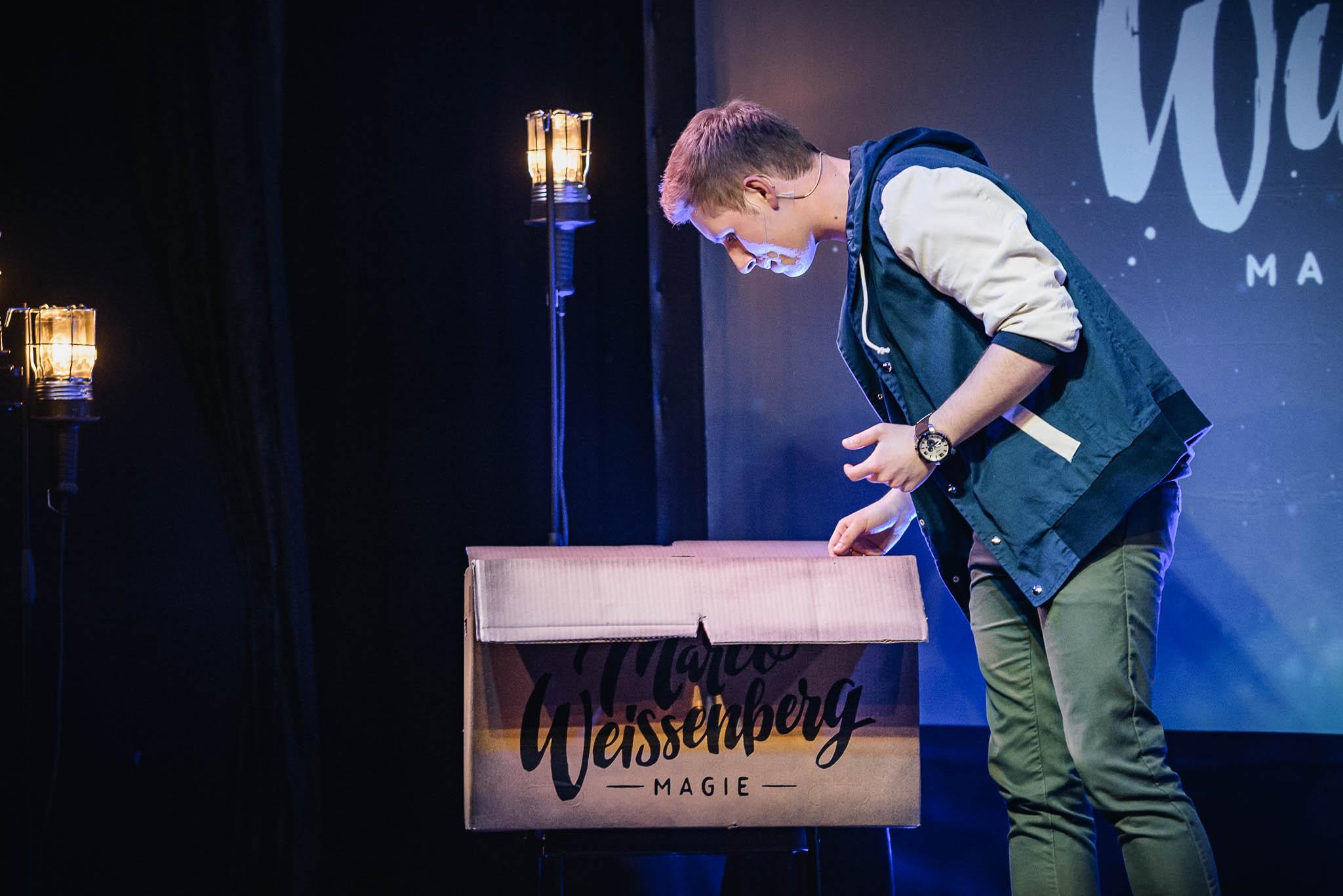 Eventtechnik Marco Weissenberg Wunderkind Show