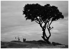 On top of Kishkinda Hill, Hampi