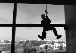Standing on top of world or hanging from the top. It all depends on how you look at it !!