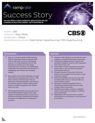 CBS Corporation Success Story