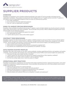 ds ramprate supplier products
