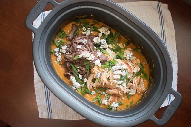 double buffalo soup above