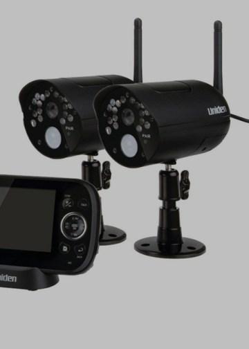 Picture of uniden video surveillance