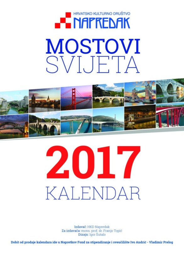 Kalendar naslovnica 2017.