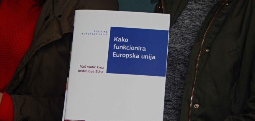 Održan EU info sat u Srednjoj školi Prozor