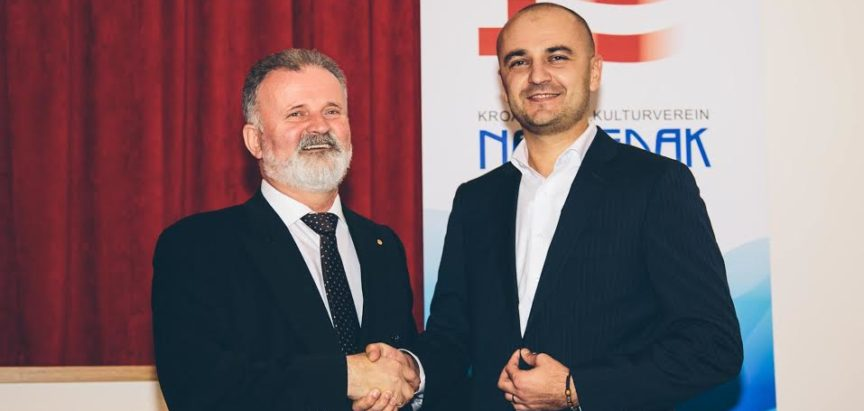 Zoran Iljkić novi predsjednik Napretkove bečke podružnice