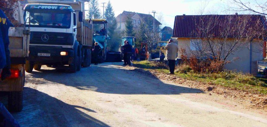 Foto-video: I na Krčima nova cesta