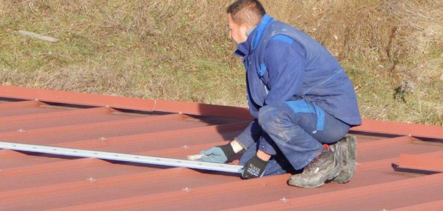 Započela rekonstrukcija krova Sportske dvorane u Prozoru
