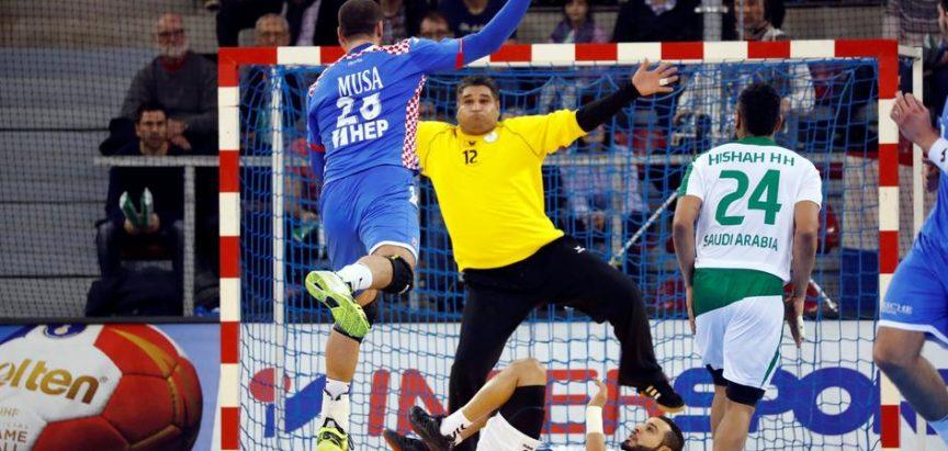 Svjetsko prvenstvo u rukometu: Hrvatska 28:23 Saudijska Arabija