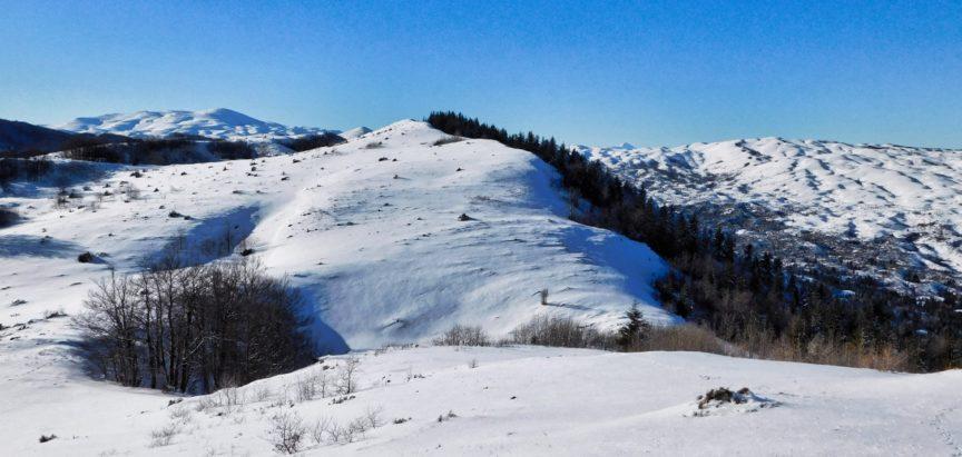Zima na ramskim planinama