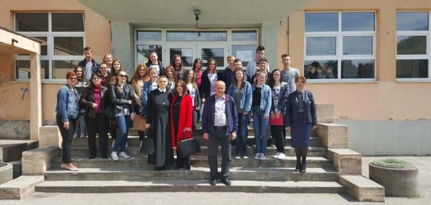 Vjeroučenici Srednje škole Prozor na prvoj vjeronaučnoj olimpijadi
