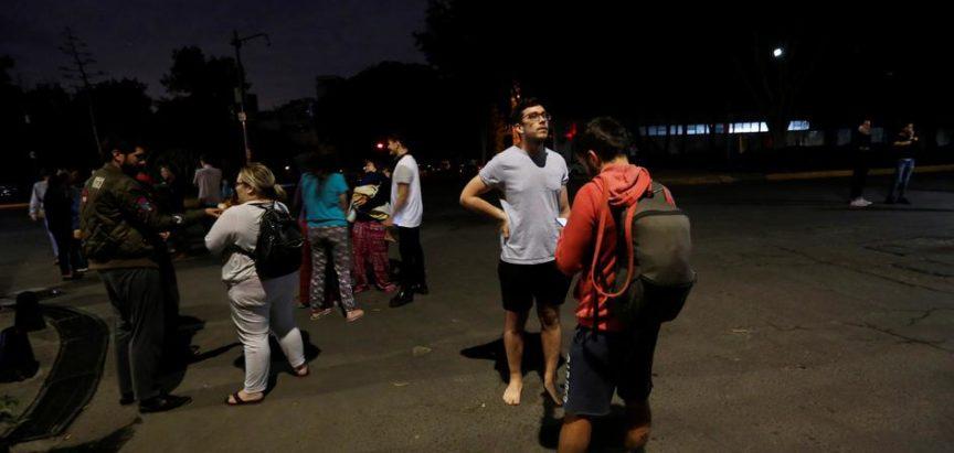 Jak potres pogodio Meksiko