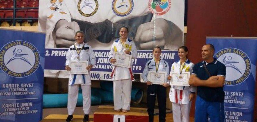 Josip Tadić kadetski prvak FBiH u karateu