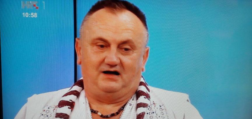 """Foto: Zavičajno društvo """"Rama"""" iz Pleternice na HTV-u predstavilo običaje Rame"""