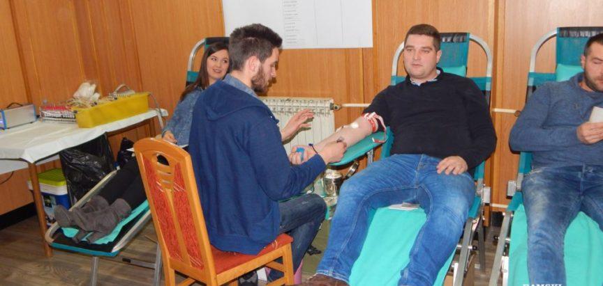 Foto: Na izvanrednoj akciji darivanja krvi prikupljeno 49 doza
