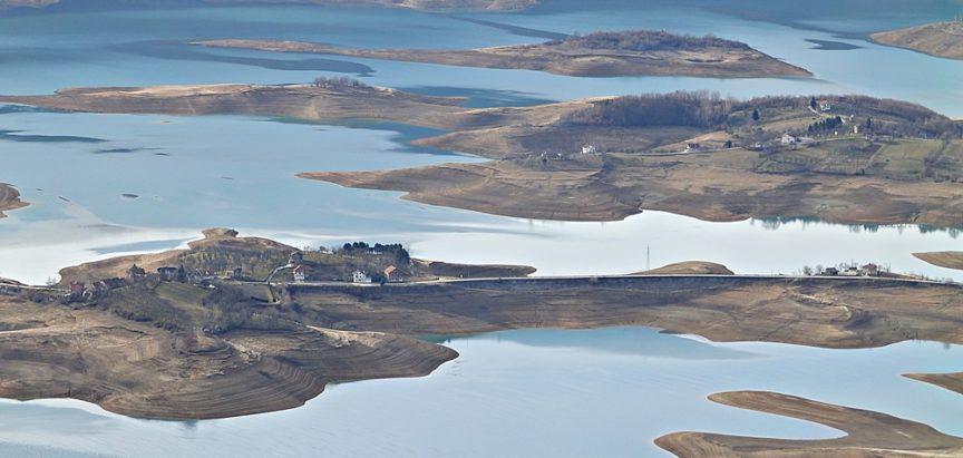 Foto: Razina vode  Ramskog jezera u stalnom porastu