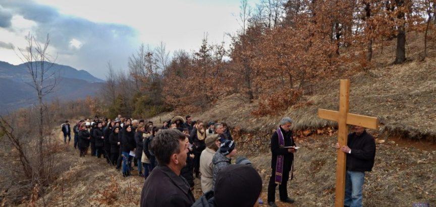 U prvu korizmenu nedjelju započinje pobožnost Križnog puta na brdu Gradac