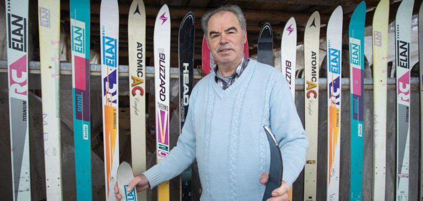Maštovito: Nikad nisu skijali, ali im je zato ograda skijaška