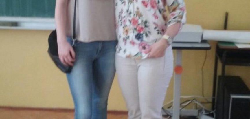 Iva Burić najbolja na Županijskom natjecanju iz biologije za treće razrede gimnazije