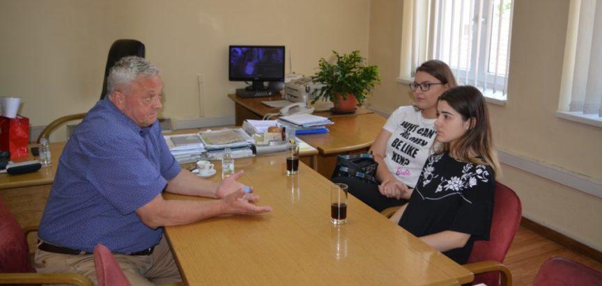 Načelnik Ivančević primio predstavnike učenika KŠC-a Sarajevo iz Rame