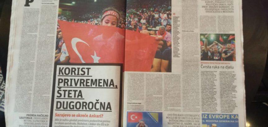 Erdoganov predizborni skup u Sarajevu: Korist privremena, šteta dugoročna