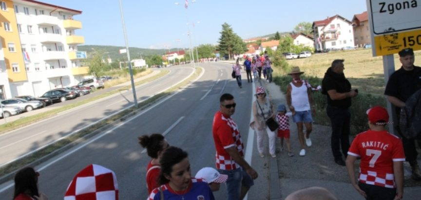 Dalić u Livnu: Mi samo volimo svoje i sve drugo poštujemo.
