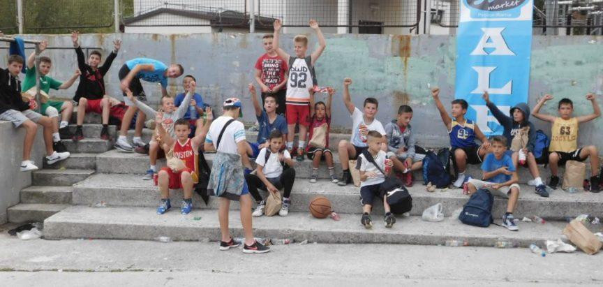 Ekipa Brunda najbolja na Streetballu za najmlađe