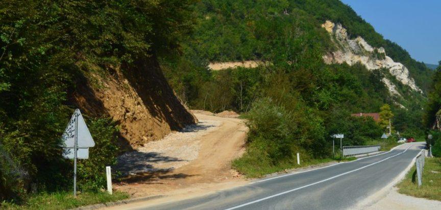 Foto/video: Nastavljeni radovi na putu za Goricu