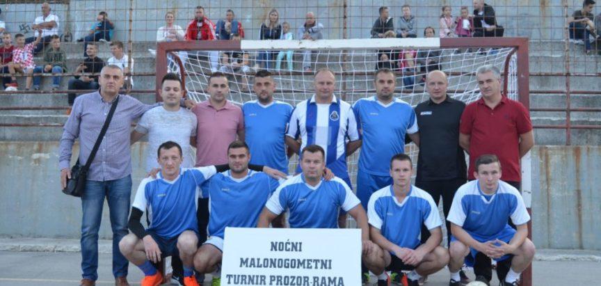 Foto: Pobjednik Noćnog malonogometnog turnira Rama 2018. je ekipa MNK Mesihovina