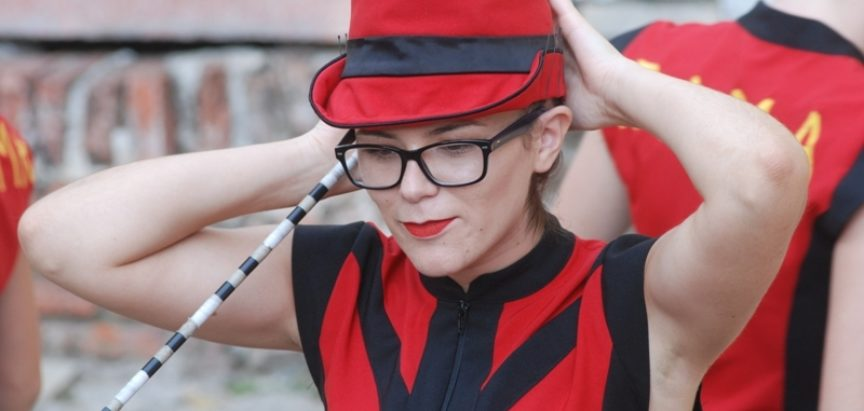 Mažoretkinje zadovoljne nastupom na EU u Srbiji