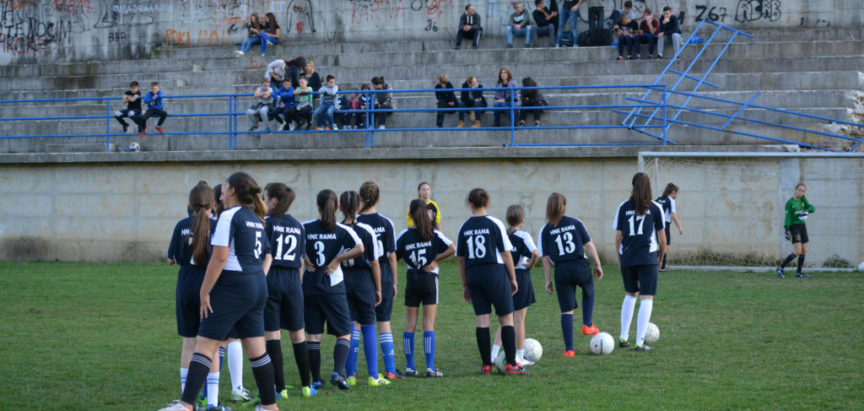 Nogometašice HNK Rama uspješnije od ŽNK Sloga G. Vakuf – Uskoplje