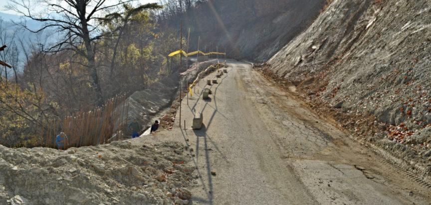 Nakon 4 godine sanacija klizišta na regionalnoj cesti R 418 b
