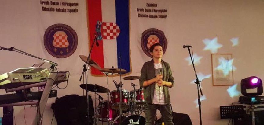 Marko Bošnjak nastupio na Danima kulturne baštine Hrvata BiH u Kninu