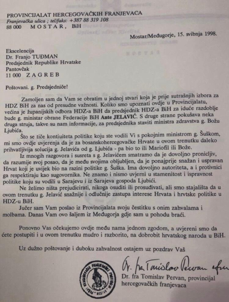 Pismo provincijala - Licemjerno skrivanje iza nacionalnog interesa