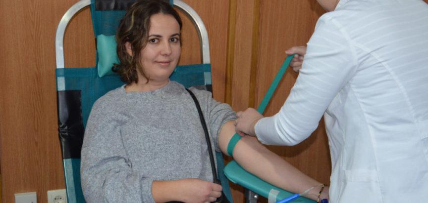 Foto: 49 doza krvi prikupljeno na izvanrednoj akciji