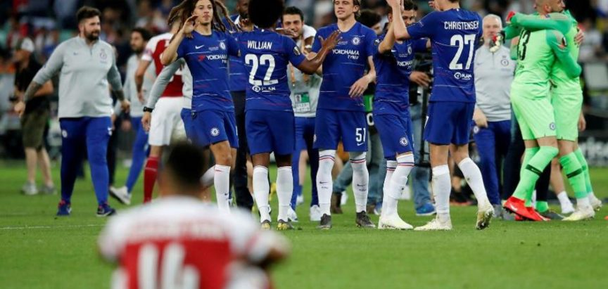 Chelsea je deklasirao Arsenal u finalu Europske lige